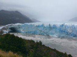 Perito Merino glacier ice bridge 2