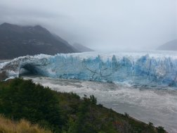 Perito Merino glacier ice bridge 2